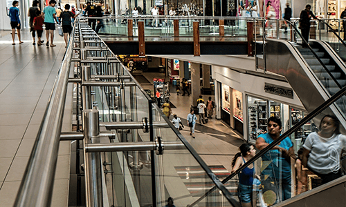 Dell Boomi customers - benefits for retail represented by shopping centre